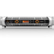 Behringer iNUKE NU6000 DSP 2-Channel 6000W Stereo Power Amplifier Amp