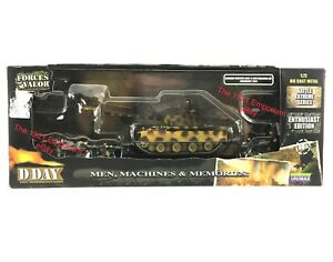 1:72 Diecast Unimax Toys Forces of Valor WWII German Army Panther Tank Set