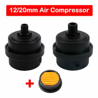 "1/2"" 1/4"" BSP THREAD COMPRESSOR AIR FILTER COMPLETE-MUFFLER SILENCER 12mm/20mm"