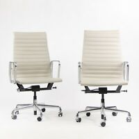 2015 Eames Herman Miller High Executive Aluminum Group Desk Chair Sets Available