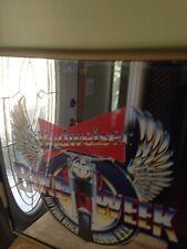 Budweiser Vintage Bike Week 1985 Motorcycle Mirror  Daytona Beach Florida