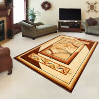 NEW CARPETS in TRADITIONAL STYLE  RUG in TRENDY PATTERN SIZES S - XXL CREAM SALE