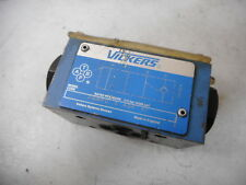 VICKERS HYDRAULIC CHECK VALVE -- PILOT OPERATED -- DGMPC-3-ABK-41