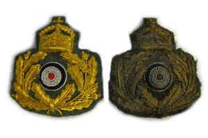 WW1 Imperial German Marine Corps Flanders Officer Badge Offizier Flandernkorps