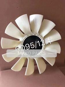 Fan Cooling Fits Komatsu 6D95 Engine 12 Blades