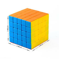 Magic Turns Quicker Multi-Color Professional Speed 5X5X5 Rubik's Cube Puzzle Toy