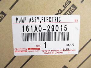 Genuine OEM Toyota Lexus 161A0-29015 Water Pump w/ Gasket