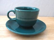FIESTA EVERGREEN CUP AND SAUCER