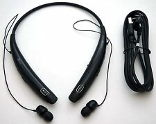 GENUINE LG Tone Pro HBS-770 Wireless Headphones BLACK Neckband Bluetooth Headset