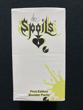 The Spoils Card Game 1st Edition Booster Box - Factory Sealed
