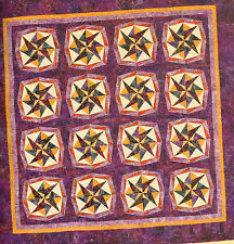 Paper Piecing 10 All New Dynamic Kaleidoscope Quilt Design Quilting Pattern Book