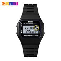 SKMEI Women Luxury Sports Watch Alarm Digital 50m Waterproof Wristwatch 1413 B9