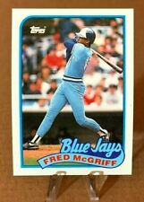 1989 Topps ⚾ FRED McGRIFF #745, Toronto Blue Jays - MINT💎