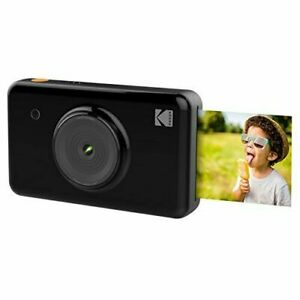 Kodak Mini Shot Wireless 2 in 1 Instant Print Digital Camera & Printer (Black)