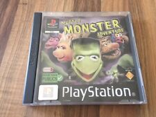 PS1:    MUPPET MONSTER ADVENTURE      PAL FR