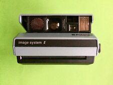 POLAROID Image System E Sofortbild Kamera + Blitz Land Spectra Quintic Film 1000
