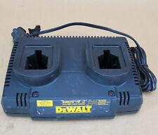 DEWALT DW9216 2 DUAL PORT 1 Hr. Battery Charger 7.2V 12V 14.4V 18V