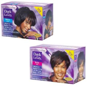 Dark and Lovely No-Lye Hair Relaxer Kit (Super/ Regular)