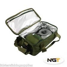 NGT Fishing Insulated Brew Kit Bag Food Cool Bag Carp Coarse Fishing Tackle Bag