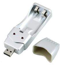 New USB Charger Charge For Rechargeable NiMH Battery AA and AAA High Capacity PQ