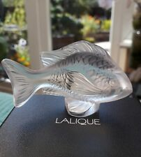 Lalique Fish Damsel Fish Clear 3025000 Brand new in Box , Only 2 left ! Perfect