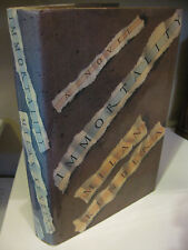 IMMORTALITY by Milan Kundera 1st Edition/1st Printing 1991 Grove NF/NF Goethe