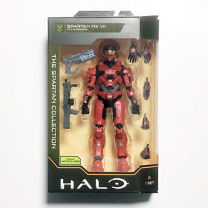 """WCT Halo The Spartan Collection 6.5"""" Spartan MK VII *New* Action Figure HLW0020"""