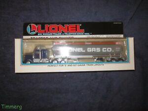 Lionel 6-12739 Lionel Gas Co.  Tractor & Tanker For O & O-27 Trains MIB