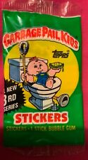 Garbage Pail Kids 3rd Series Wrapper and 7 Cards