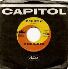 "Dave Clark Five - Do You Love Me  RARE ORIG 1965 Capitol Swirl 7"" Vinyl 45 (NM!)"