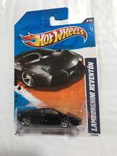 """Hot Wheels '11 Nightburnerz Lamborghini Reventon Black """"Mint"""""""