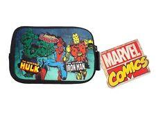 Genuine Marvel Comics Character Neoprene Gaming Case Zip Console Bag Travel