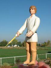 NICE Luke Farmboy 1977 BROWN HAIR ORIG. LIGHTSABER VARIANT Vintage Star Wars
