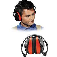 Kapselgehörschutz Gehörschutz Arbeitsschutz ABS SNR 28dB EN352-1 Rot NEU OVP