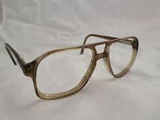 STETSON Arroware vintage brown made USA aviator sunglass eyeglass frames