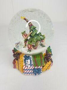 KRINKLES SNOW WATERGLOBE MUSIC BOX Patience Brewster Christmas Tree Dept 56