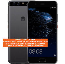"HUAWEI P10 PLUS VKY-L29 6GB 64/128GB 20Mp Fingerprint Dual Sim 5.5"" Android Lte"