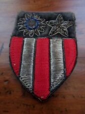 US Army World War II CBI China Burma India uniform embroidered sleeve patch WW2