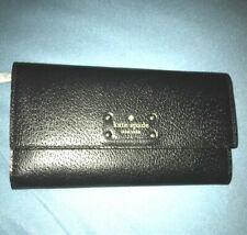 Kate Spade Jean Wellesley Leather Wallet in Black #2602 New