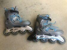 Schwinn Girls' Inline Roller Skates with Adjustable Size 6-7.5 Challenge Series