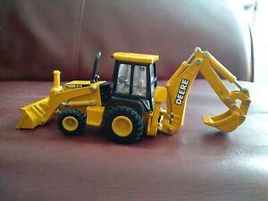 Vtg ERTL 1/64 Scale Diecast John Deere 310D Backhoe & Front Loader Tractor