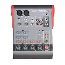PROEL MI6 MIXER - Ultra-compact 6-Channel 2-Bus Mixer