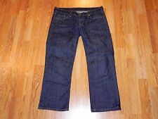 CITIZENS OF HUMANITY KELLY #063 LOW WAIST CROPPED BLUE JEANS WOMEN SIZE 29