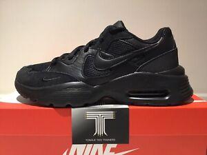 "Nike Air Max Fusion ""Triple Black"" ~ CJ1670 001 ~ Uk Size 11.5 ~ Euro 47"
