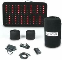 DGYAO Red & Near Infrared Light Therapy Devices for Pain Relief Speeds Healing