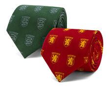 Harry Potter Gryffindor Crest Jacquard Silk Tie, Hogwarts, Wizarding World Noble