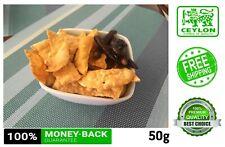 Papad Papadam Crunchy APPETIZER-100% Srilankan Home Made 50g