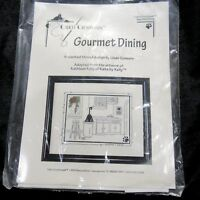 Calico Crossroads Gourmet Dining Counted Cross Stitch Kit Kats by Kelly