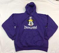 Disneyland Resort Walt Disney World By Hanes Hood Pullover Sweatshirt Sz. L S408
