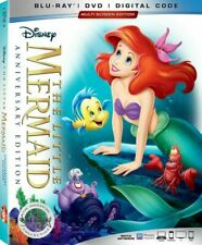 Disney The Little Mermaid 30th Anniversary Signature Collection DVD - 2019